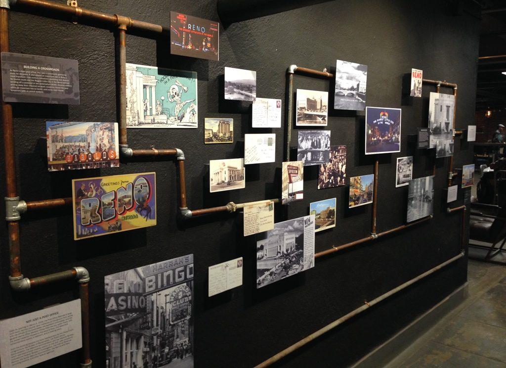 Basement history display