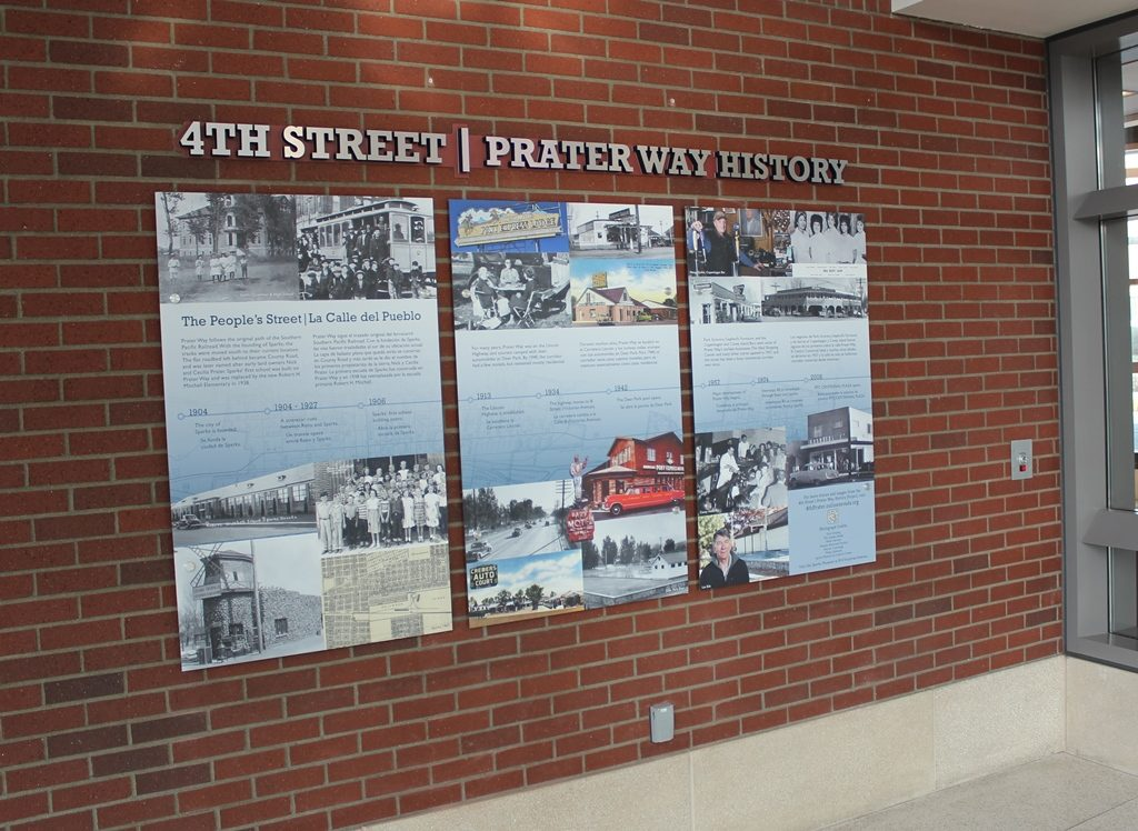 Copy of Centennial Plaza installation